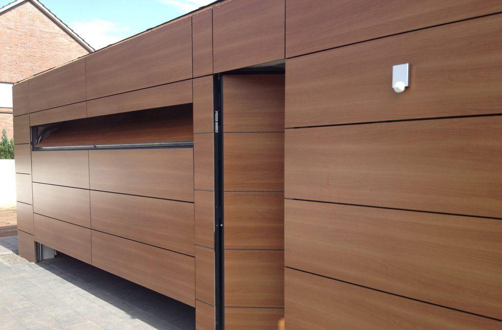 Holzfassade Außenwand Holz