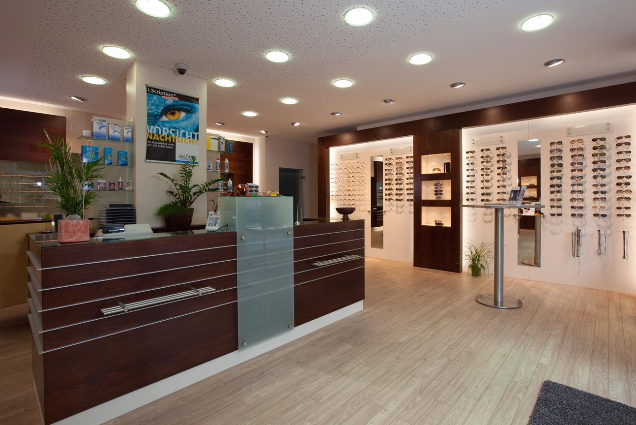 Ladeneinrichtung Optik Schonefeldt in Nordhorn1