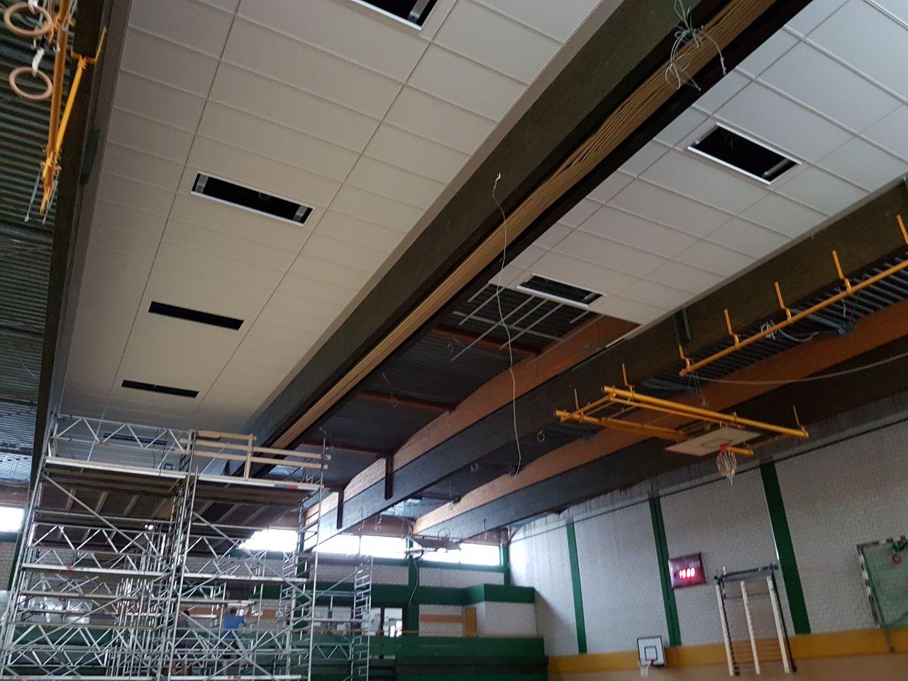 Deckenerneuerung Sporthalle Vlotho (am Rudolf-Kaiser-Schulzentrum)1