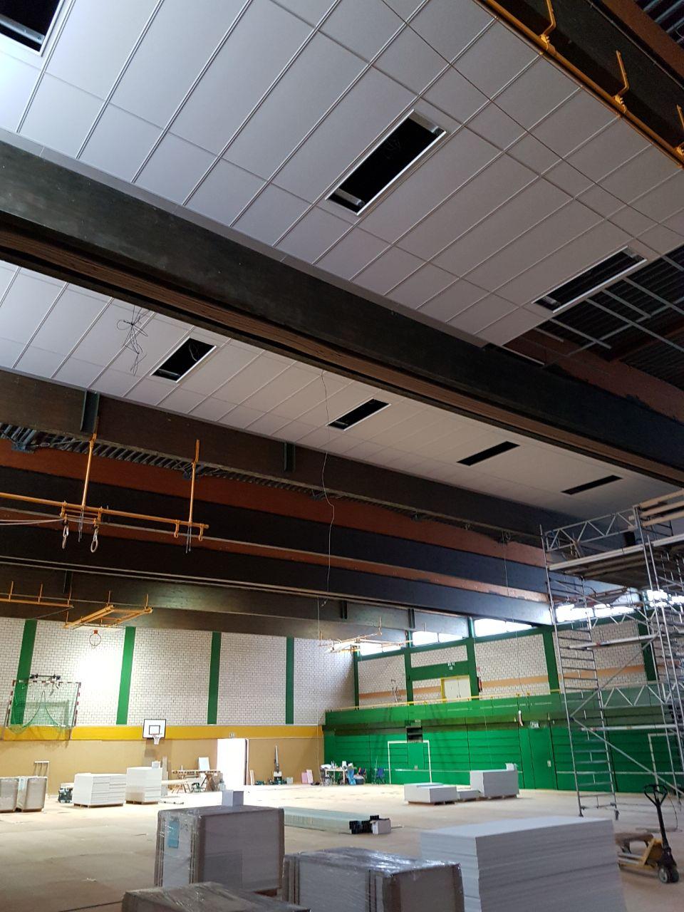 Deckenerneuerung Sporthalle Vlotho (am Rudolf-Kaiser-Schulzentrum)2