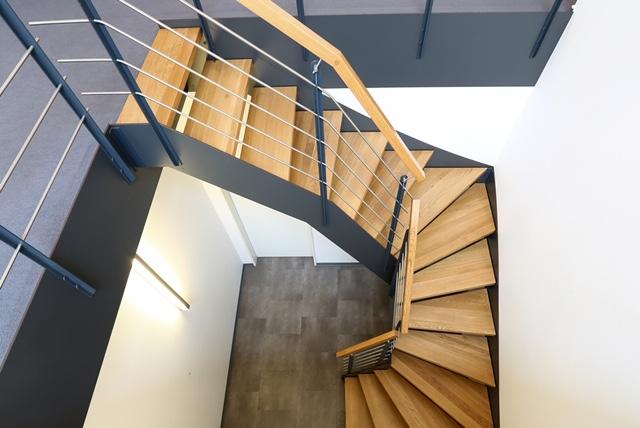Treppe Wendeltreppe Kurve
